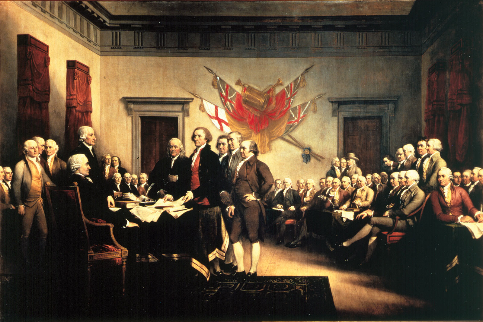 the declaration of independence gave birth to freedom