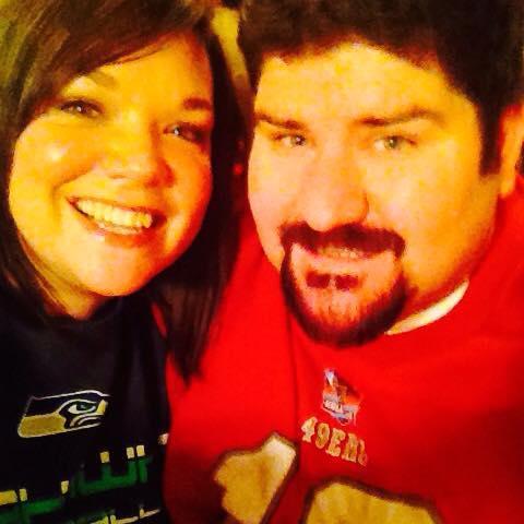 Andrea and I