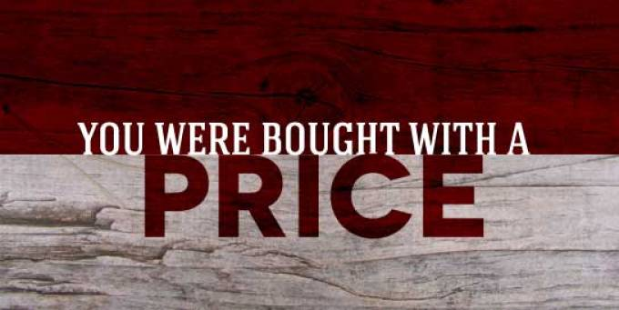 Image result for BROUGHT WITH A PRICE