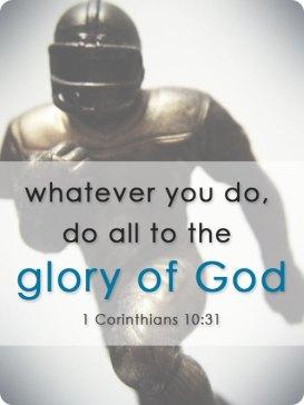 1 Cor 10.31