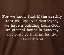 II Corinthians 5.1