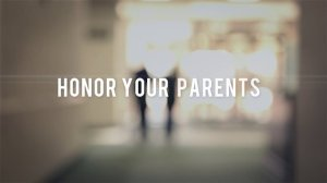 Honoring Parents